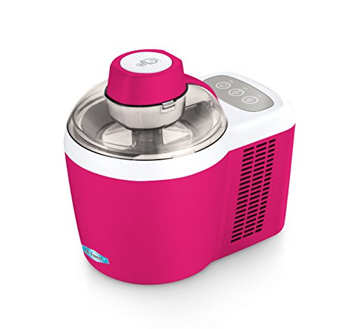 Mr. Freeze EIM-700BR Maxi-Matic 1.5 Pint Thermoelectric Ice Cream Maker, Berry