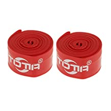 MonkeyJack 2x Bicycle Cycling Rim Tape Anti-Puncture Tire Inner Tube Tyre Liners Protector for 700c Tires