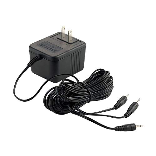 Department 56 Accessories for Villages Halloween AC/DC Adapter for Light, 3.15 inch