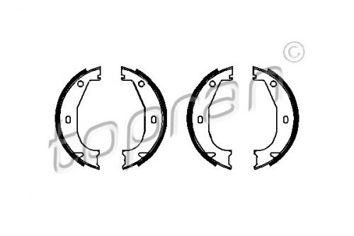 Rear Axle Parking Brake Shoe Set Fits BMW Z3 E36 Coupe Sedan Wagon 1990-2003