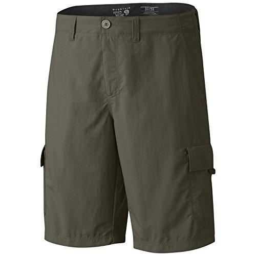Mountain Hardwear Athletic Shorts - Mountain Hardwear Castil Cargo Short - Men's Stone Green 32