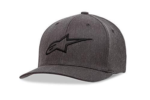 (Alpinestars Men's Ageless Curve Hat, Charcoal/Grey, Large/X-Large )