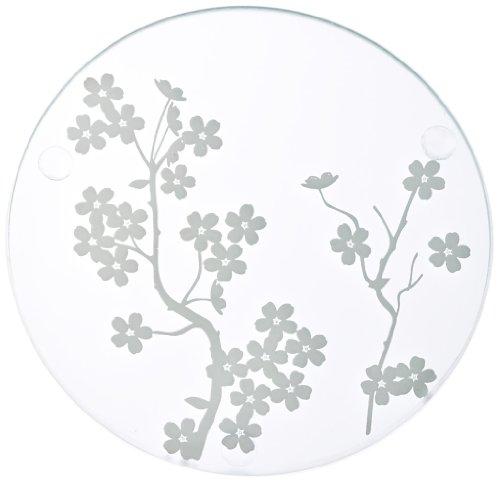 Kate Aspen 27040NA Glass Coasters, Cherry Blossoms