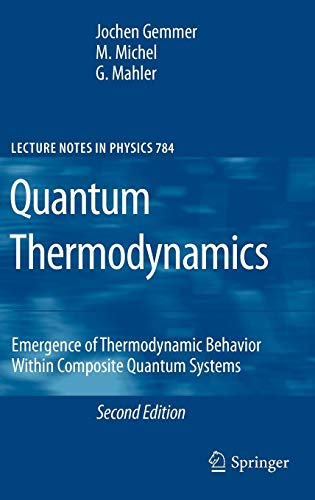 Quantum Thermodynamics: Emergence of Thermodynamic Behavior Within Composite Quantum Systems (Lecture Notes in Physics)