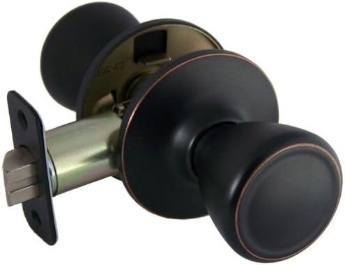 Designers Impressions Salem Design Oil Rubbed Bronze Dummy Door Knob