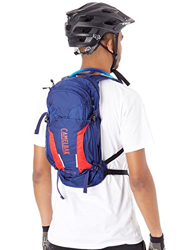 CamelBak M.U.L.E. 100 oz Hydration Pack, Pitch Blue/Racing Red by CamelBak (Image #1)