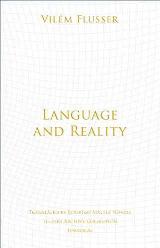 Language and Reality (Univocal) by Univ Of Minnesota Press