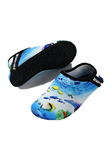 Ocean On Slip Shoes Water Blue Shoes Socks Yoga Design Aqua NeuFashion Diving Shoes Outdoor Sports Quick Dry Barefoot zawB4gx