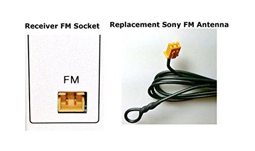 SONY Replacement Antenna FM For MHC-EC619iP MHC-EC719iP MHC-EC919iP