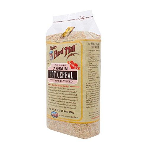 Bob's Red Mill 7 Grain Hot Cereal - 25 oz - Case of (Cereal Seven Grain)