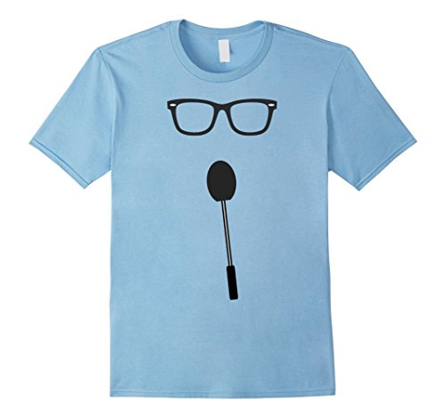Price Is Right Costume Diy (Mens Game Show Host Group Halloween Costume T-Shirt 2XL Baby Blue)