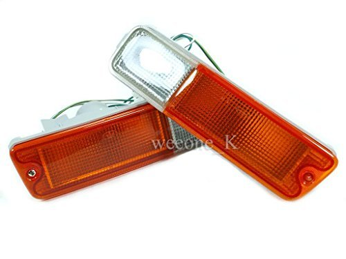 Front Bumper Light Lamp Standard Color For Mitsubishi L200 Strada Animal 1995-2004