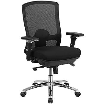 Flash Furniture HERCULES Series 24/7 Intensive Use Big U0026 Tall 350 Lb. Rated