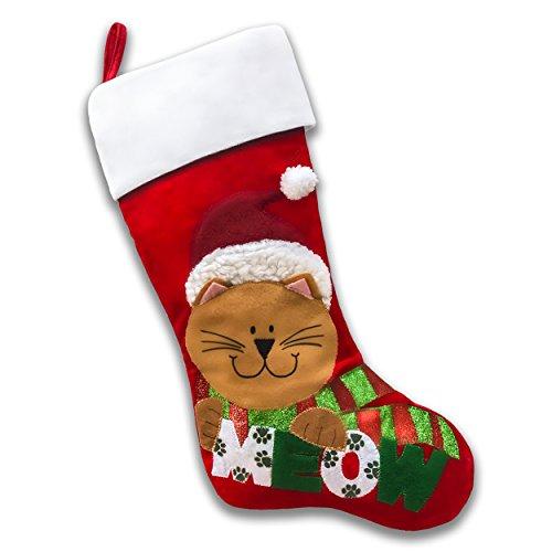 Pet Christmas Stockings (Meow Cat) -