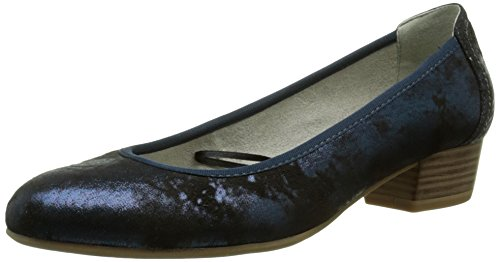 Blue Navy Blau Tamaris 805 22201 Women's Pumps Closed rwxYIaqY