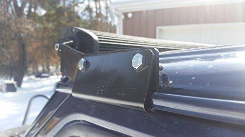 Jeep-Cherokee-LED-Light-Bar-Mounting-Bracket-kit-for-50-Primed-84-01-XJ