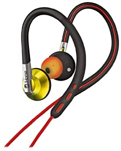 iHome IB11RY Sports hook earbuds Red Yellow