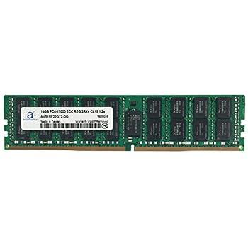 Image of Adamanta 16GB (1x16GB) Server Memory Upgrade Compatible for Dell Poweredge, Dell Precision & HP Proliant Servers Processor DDR4 2133MHz PC4-17000 ECC Registered Chip 2Rx4 CL15 1.2v DRAM RAM