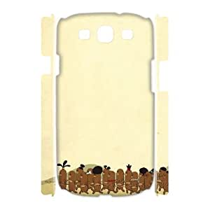 3D Funny Series, Samsung Galaxy S3 Cases, Dinner Time Cases for Samsung Galaxy S3 [White]