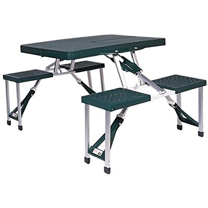 Amazoncom HighEnd Folding Picnic Table Camping Table Portable - High end picnic table