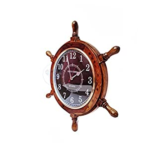 415gG9OcrvL._SS300_ Best Ship Wheel Clocks