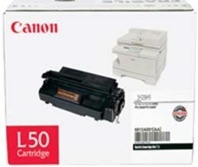 - 1 X Original Canon L50 (6812A001AA, 6812A001) 5000 Yield Black Toner Cartridge - Retail