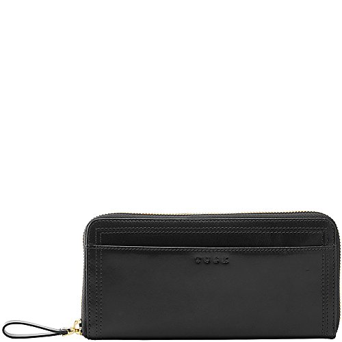 tusk-ltd-single-zip-gusseted-clutch-black