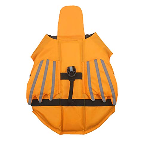 - Smdoxi Summer pet Dog Life Jacket pet Solid Color Reflective Vest Adjustable Outdoor Wings Swimwear