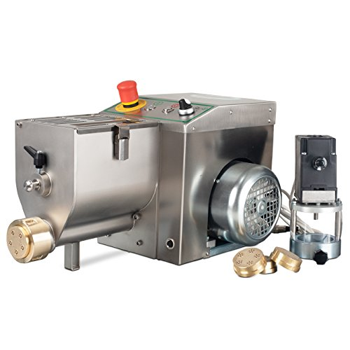 Pasta Extruding Machine with 4 Bronze Dies, used for sale  Delivered anywhere in USA
