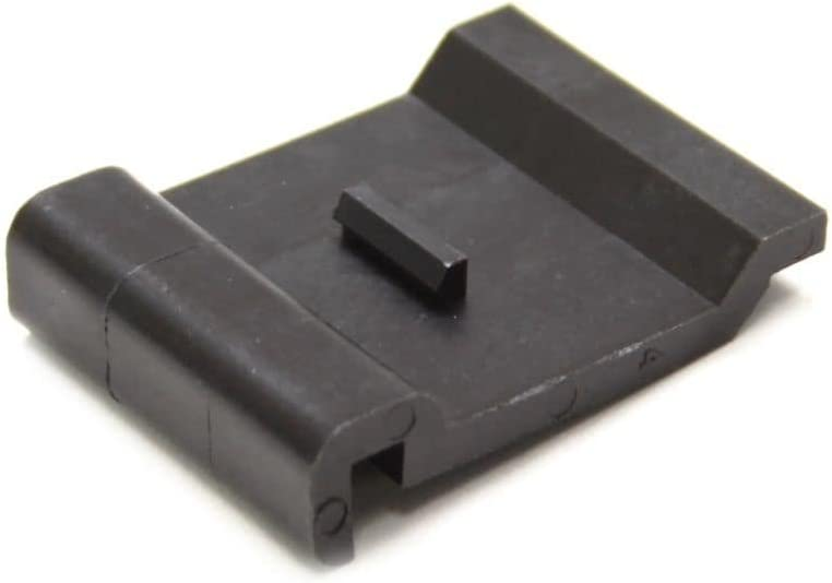 Whirlpool W98010187 Range Oven Door Trim, Lower (Black) Genuine Original Equipment Manufacturer (OEM) Part Black