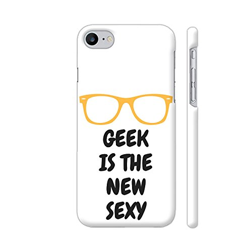 Colorpur Geek Is The New Sexy 2 Artwork On Apple iPhone 8 Case | Artist: - Specs Geeky