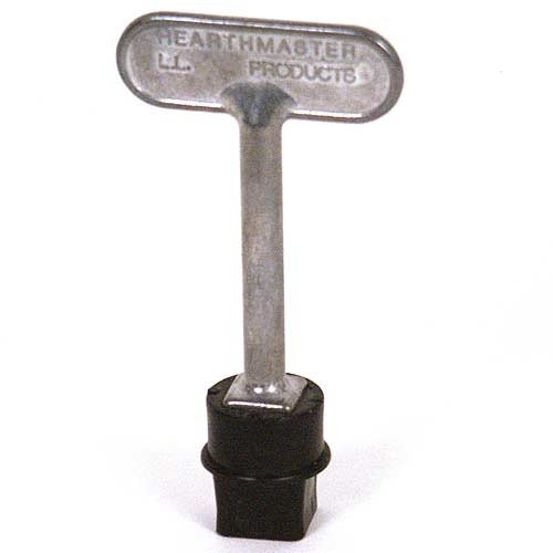 Woodeze Home Decorative Outdoor Fire Place Accessorie Hearthmaster Valve (Decorative Log Lighter Key)