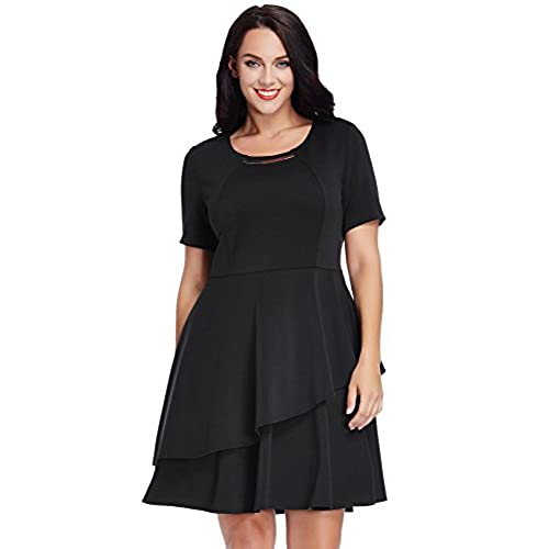 Semi Formal Black Dress For Plus Size Amazon