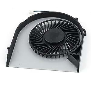 CPU PC portátil ventilador de refrigeración 4pins DC 5V 0.5A para Acer Aspire V5-571