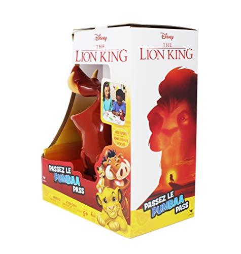 Disney Lion King Pumbaa Pass Game for Families, Teens, and Adults