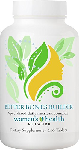 Better Bones (Better Bones Builder By Women's Health Network - Specially Formulated Multivitamin for Women with Greater Risk for Bone Health Issues - 240 Tablets (1 Bottle))