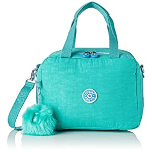Kipling MIYO School Bag, 25 cm, 8 liters, Blue (Deep Aqua C)