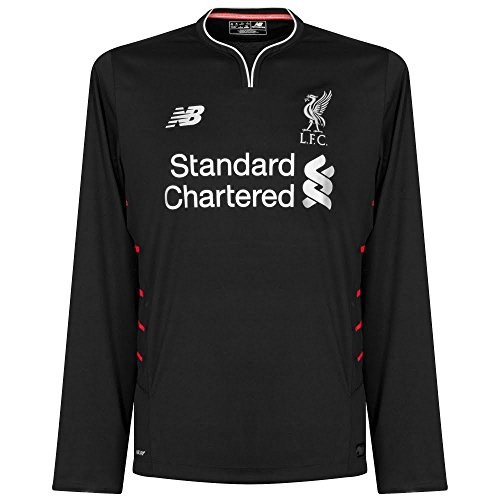 - 2016-2017 Liverpool Away Long Sleeve Shirt