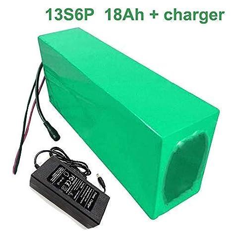 Seilylanka con Cargador 48V 18Ah 13S6P Batería de Iones de ...