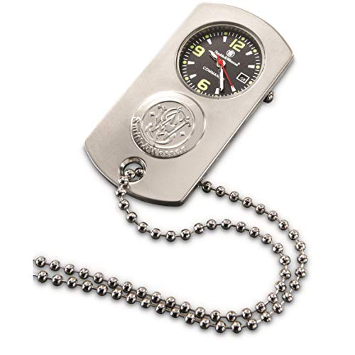 Smith & Wesson Dog Tag Watch, Silver