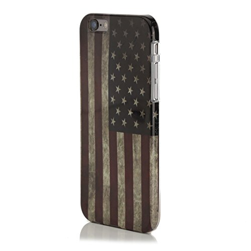 Coconut® Vintage iPhone 6s Case - USA Stars and Stripes Flagge