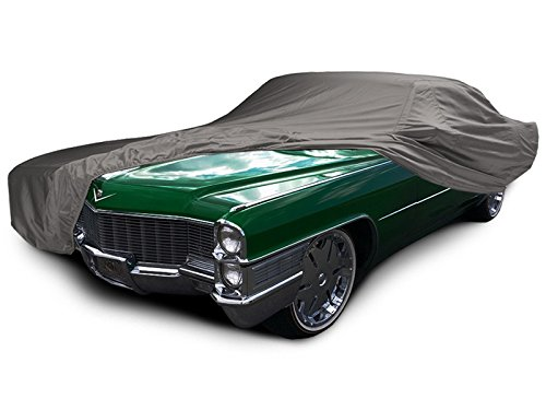1972 1973 Covercraft Car Covers (CarsCover Custom Fit 1963-1977 Cadillac DeVille Car Cover Ironshield Leatherette All Weatherproof De Ville Waterproof 100% Block Sun, Rain, Dust)