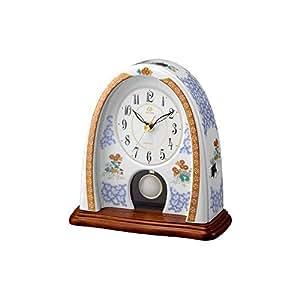 Rhythm Wood Analog Clock - Desk & Shelf Clocks