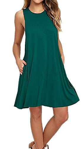 Merryfun Womens Sleeveless Pockets T shirt product image