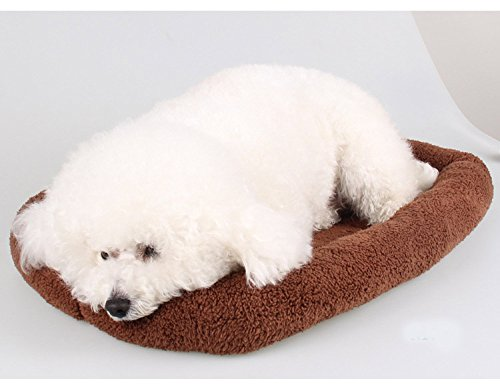 Deluxe Bolster Pet Bed Thermal Cat Overstuffedv Cotton Mat for Dogs & Cats Maucelidom