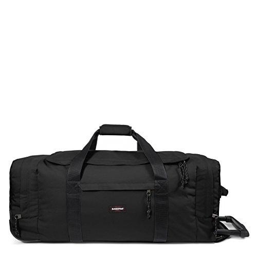 Eastpak Leatherface L Equipaje de ruedas, 87 cm, 98 L, Negro Negro (Black)