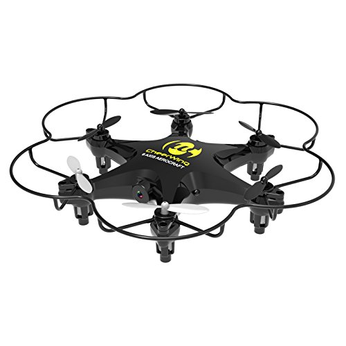 Cheerwing CW6 RC Hexacopter 2.4Ghz 6-Axis Mini Remote Control Quadcopter Drone with 2MP HD Camera Headless Mode One Key Return