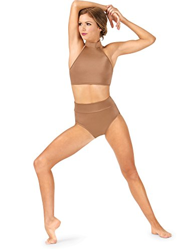 Body Wrappers Adult High Waist Performance Briefs NL294LATM Latte Medium ()