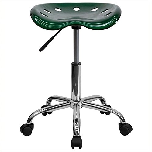 Scranton and Co Adjustable Bar Stool in Green