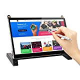 7'' inch Touchscreen Monitor 1024x600 IPS Display Touch Screen with Prop Stand Built-in Dual Speakers HDMI 2.0 Plug and Play FPC for Raspberry Pi 3 B+ Model B Xbox PS4 Mac Win7/8/10